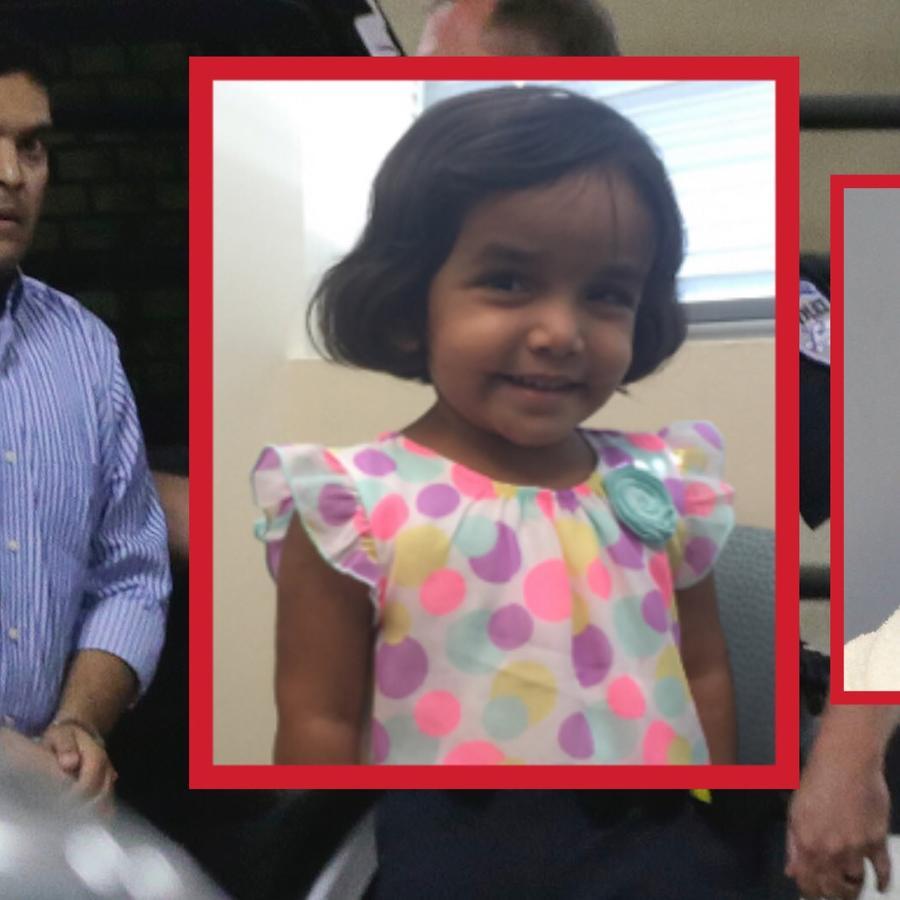 Wesley Mathews acusado de asesinar a su hija adoptiva Sherin Mathews