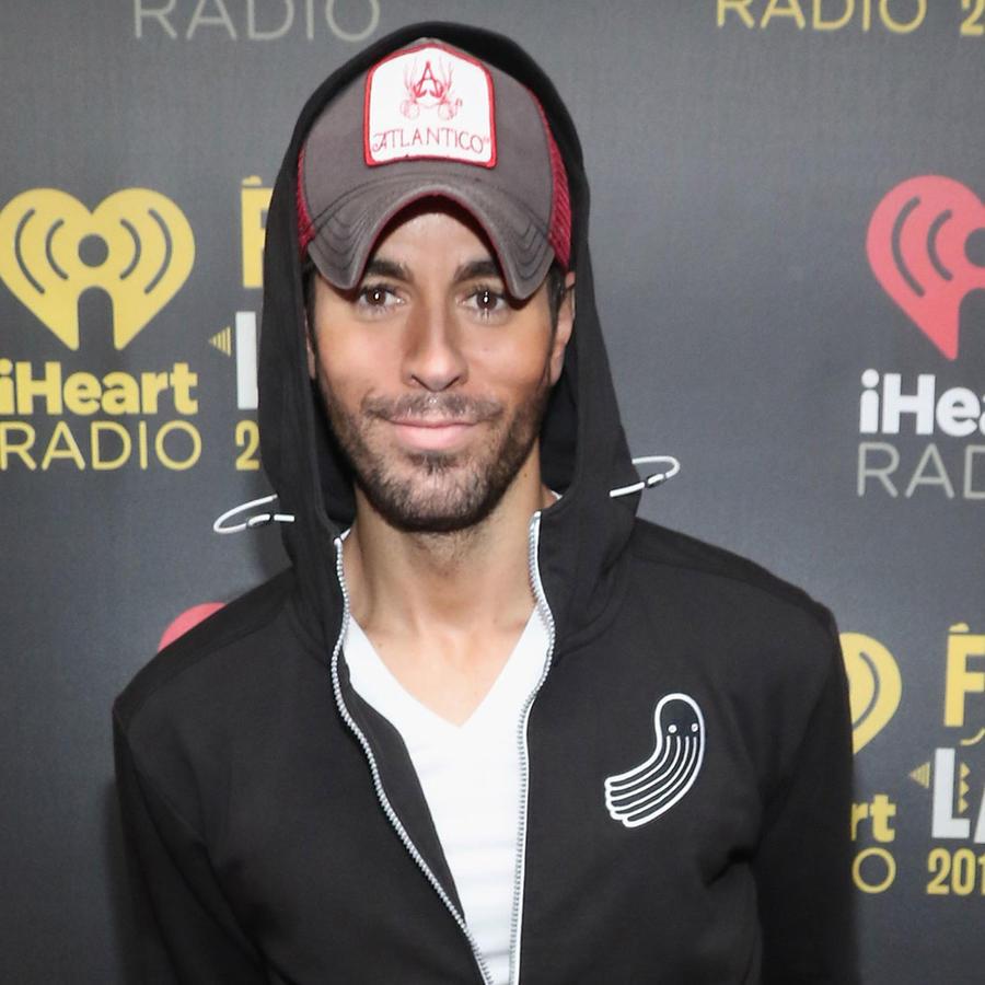 Enrique Iglesias en iHeartRadio Fiesta Latina en el American Airlines, Miami, 2016.