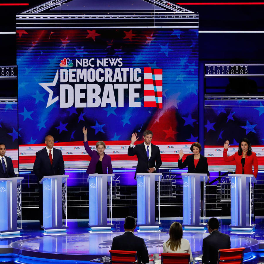 Primer debate presidencial demócrata de 2020