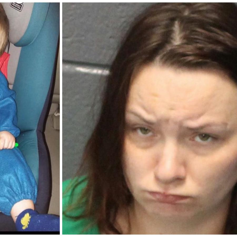 La madre de Noah Tomlin, Julia Leanna Tomlin, fue arrestada en Virginia