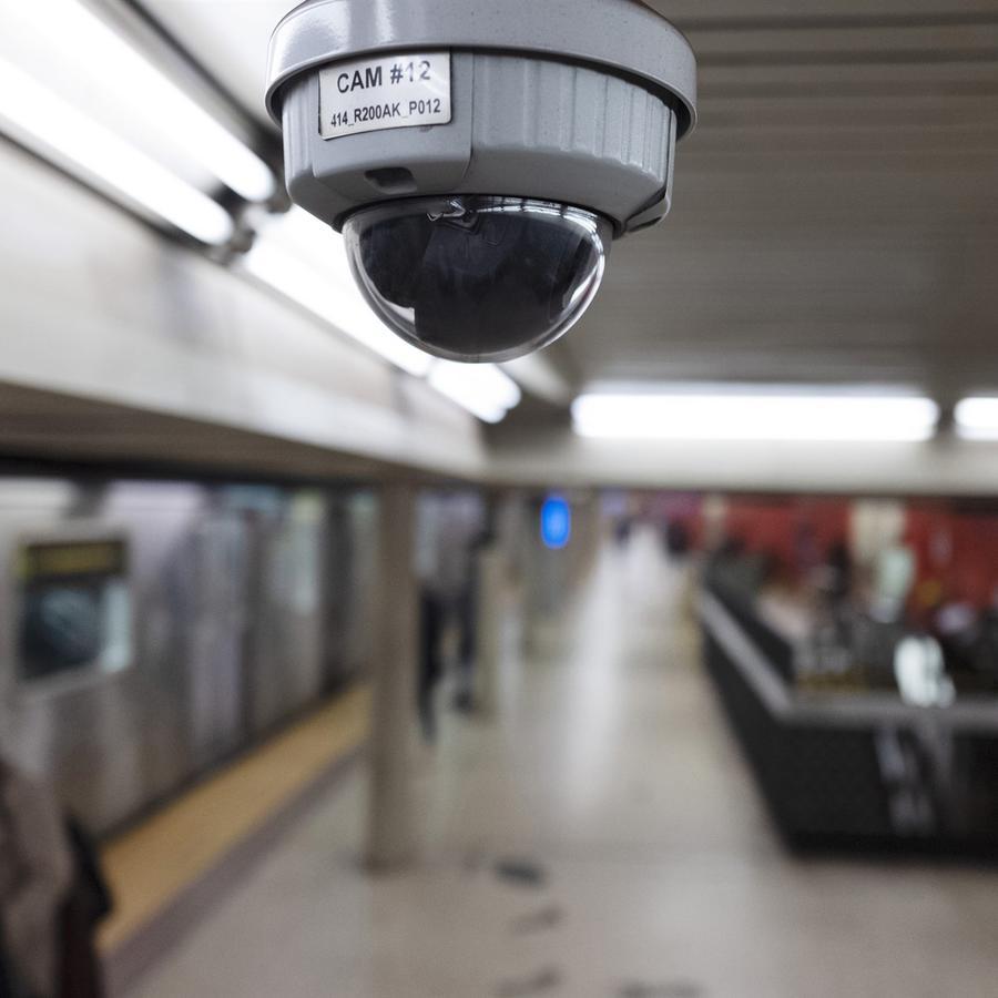 Cámara de seguridad en Nueva York/archivo AP