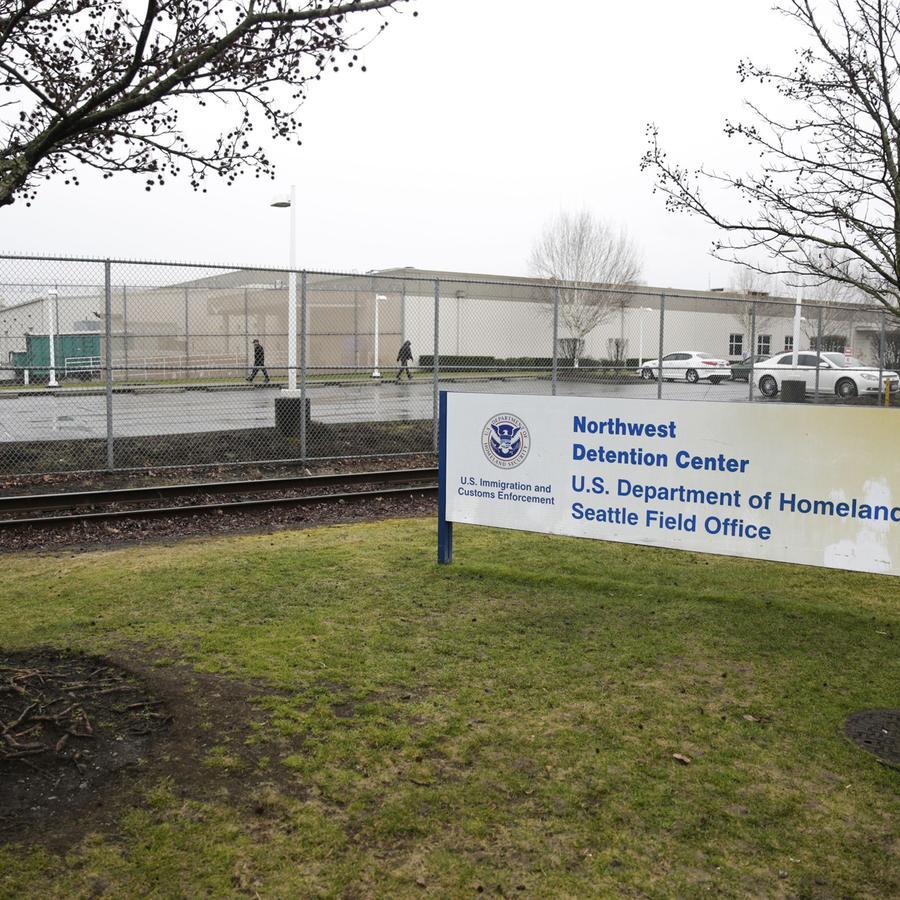 El centro de detención de inmigrantes de Tacoma, Washington, que un hombre intentó incendia este sábado (imagen de archivo).