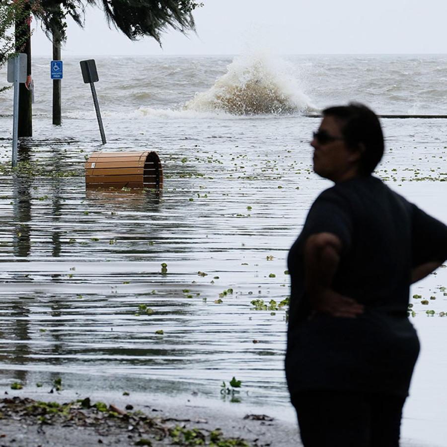 La tormenta tropical Barry deja inundaciones en su paso por Luisiana.