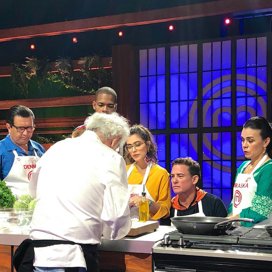 Masterclass del Chef Ennio Carota en MasterChef Latino 2