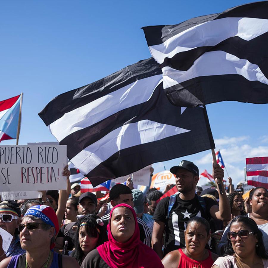Mieles de boricuas protestaron para exigir la renuncia del gobernador Ricardo Rosselló.