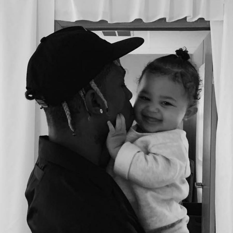 Travis Scott y Stormi Webster