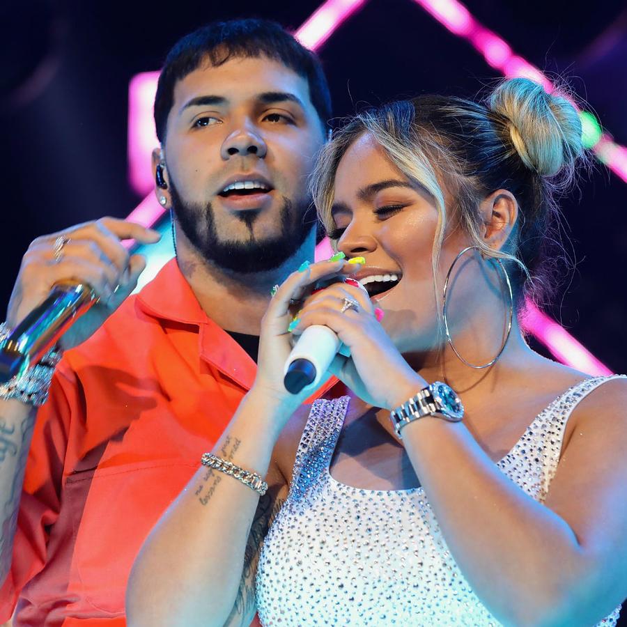 Anuel AA y Karol G