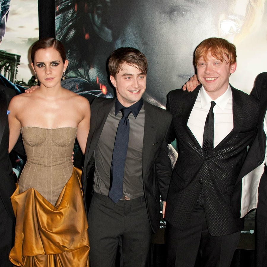 Protagonistas de Harry Potter