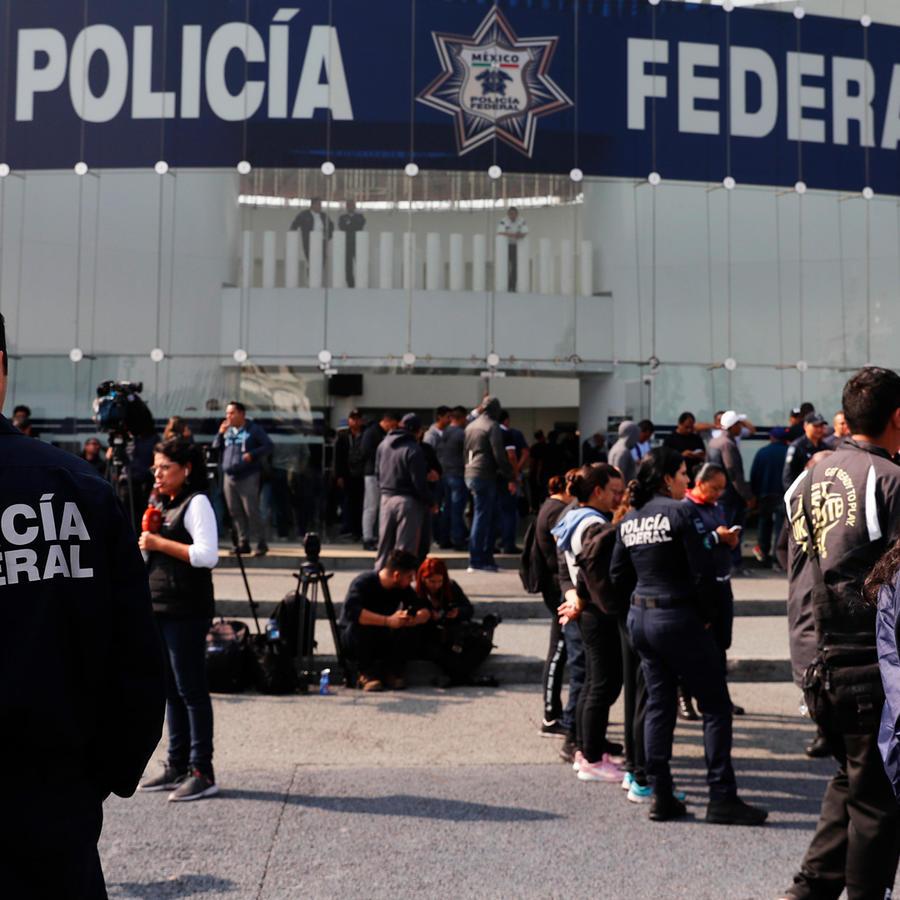 Policía Federal de México en una imagen de archivo