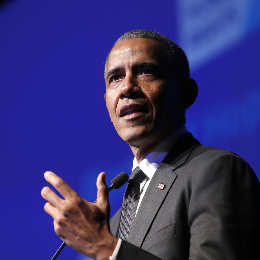 Imagen de archivo del expresidente Barack Obama.