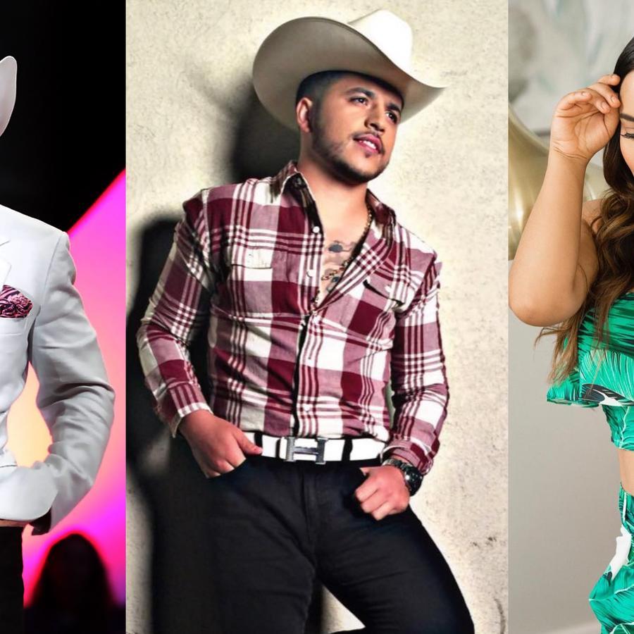 Lupillo Rivera, Jesús Mendoza y Mayeli Alonso