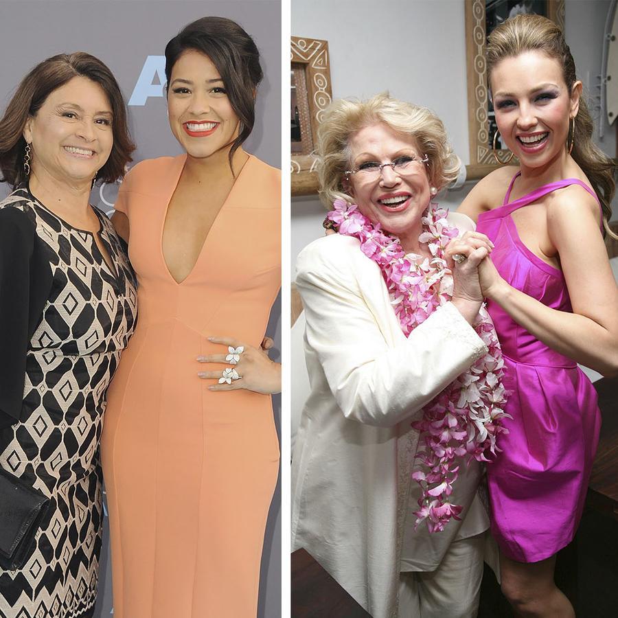 Gina Rodríguez, Thalía, Jennifer Lopez