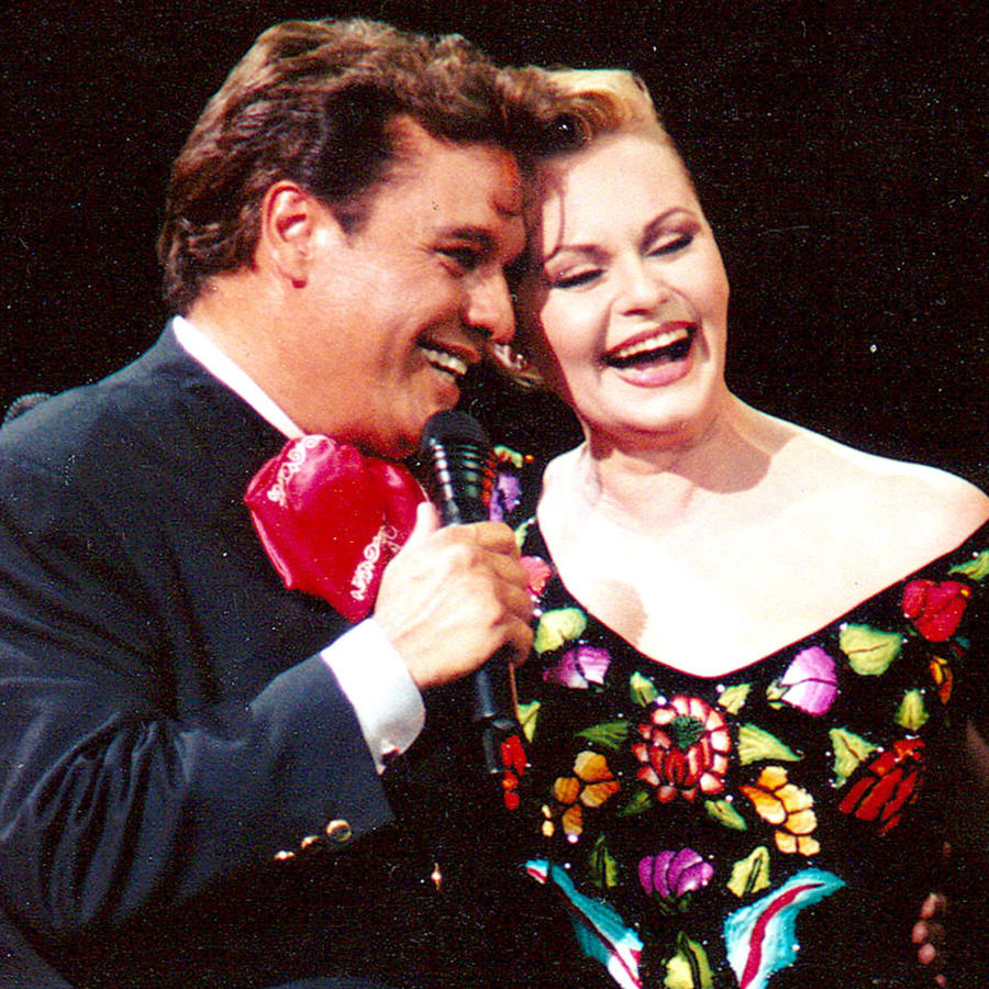 Juan Gabriel y Rocío Dúrcal