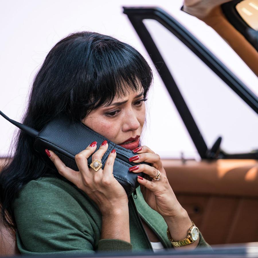 Maya Zapata en el secreto de Selena