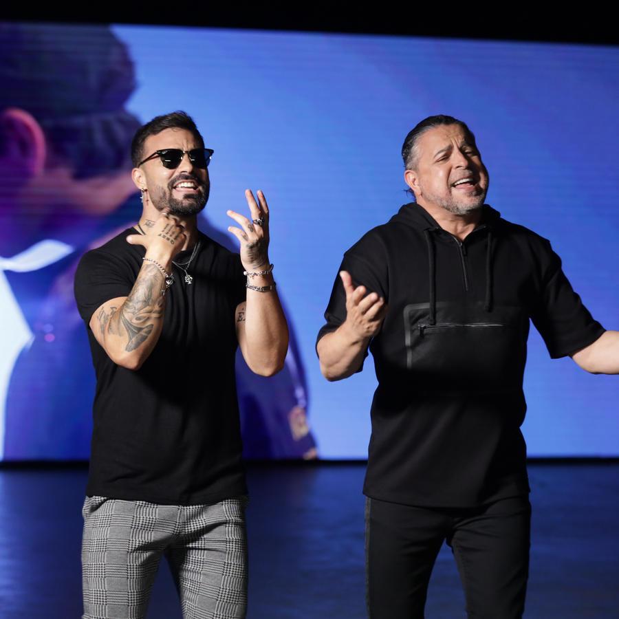 Luis Enrique y Tutto Duran en nueva canción