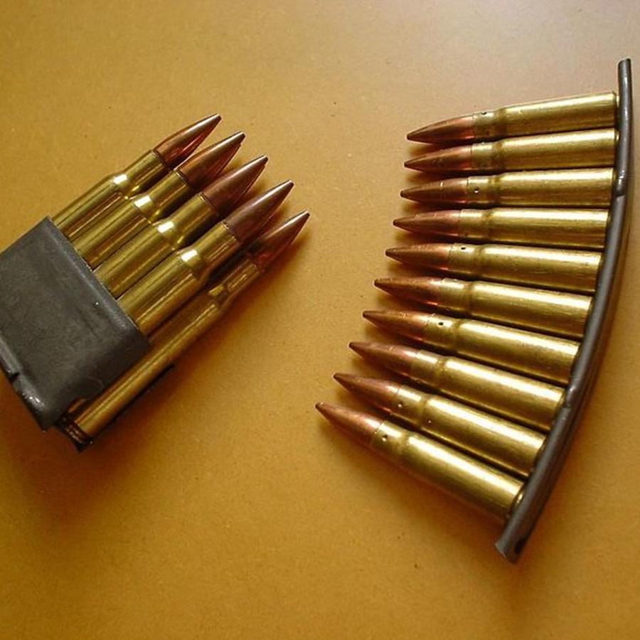 Cargadores de armas de fuego.