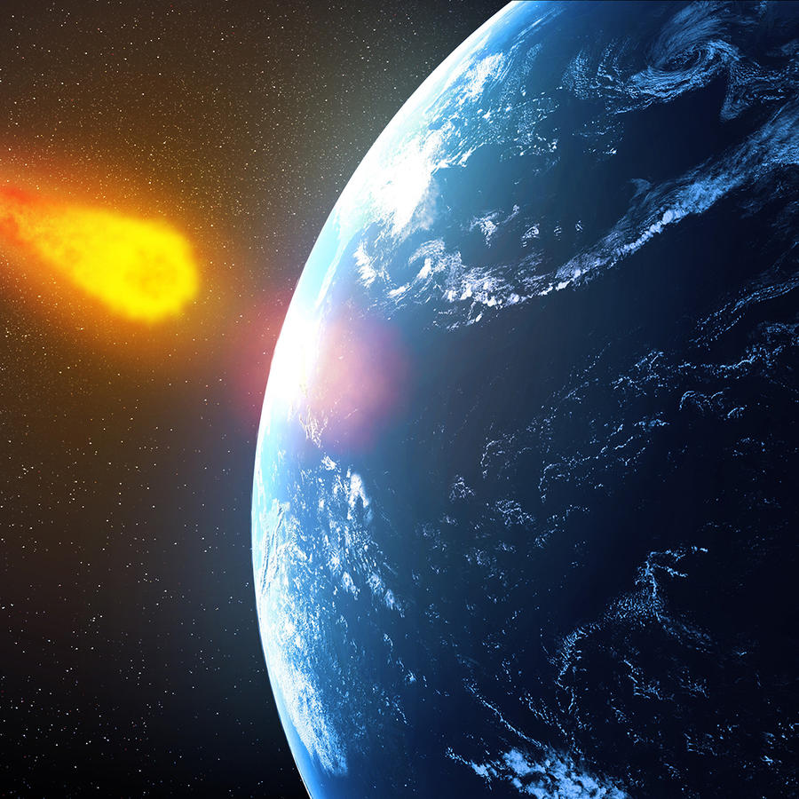 Near-Earth asteroid, artwork