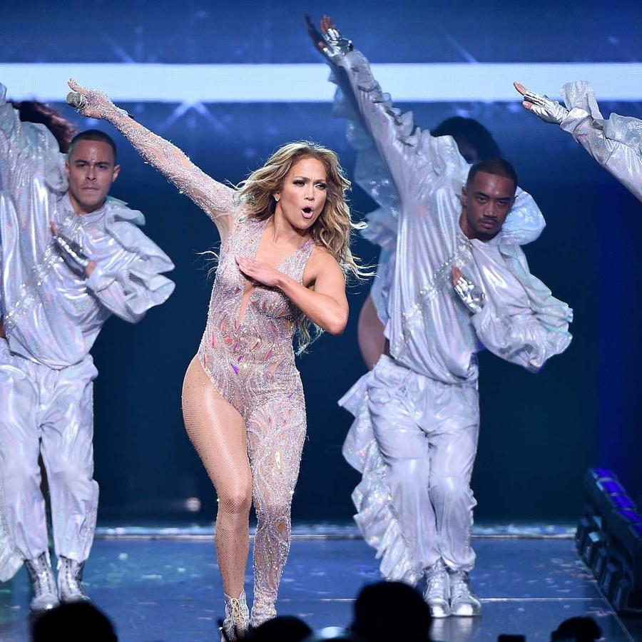 "Jennifer Lopez durante el ""It's My Party Tour 2019"" en New York"