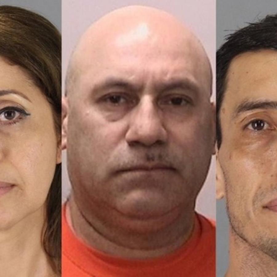 Haydee Arguello, Luisando Suárez y Wilfredo Amaya, acusados de golpear al novio afroamericano de su hija