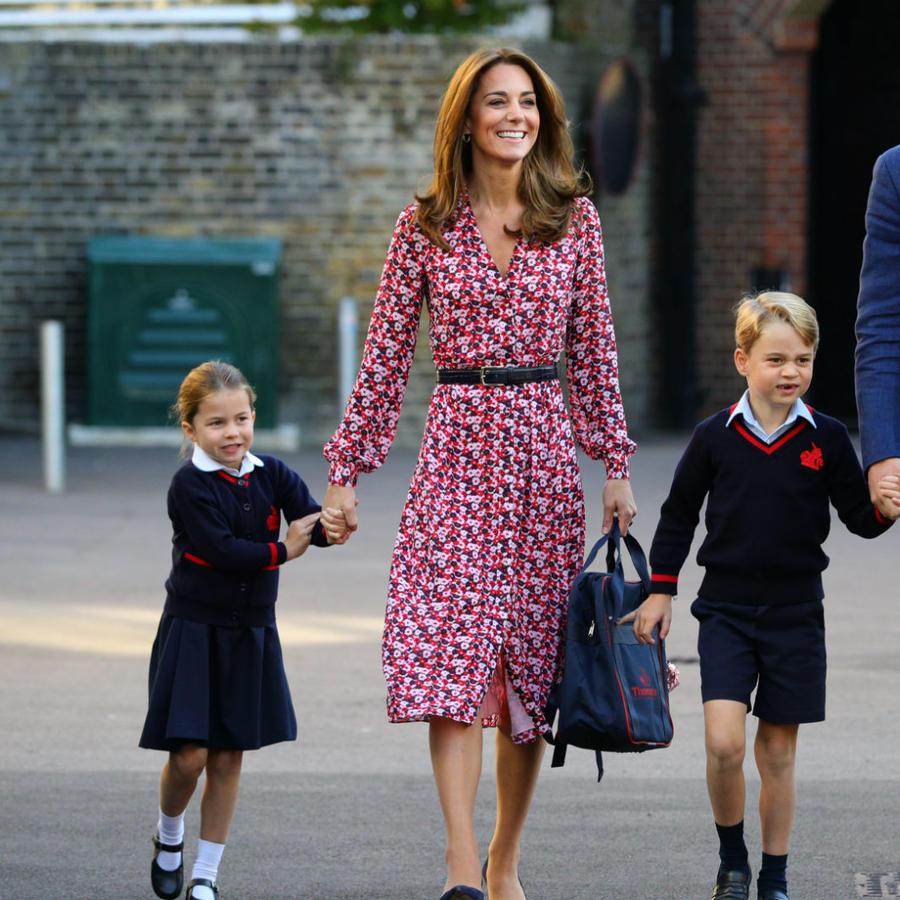 Kate Middleton con toda su familia