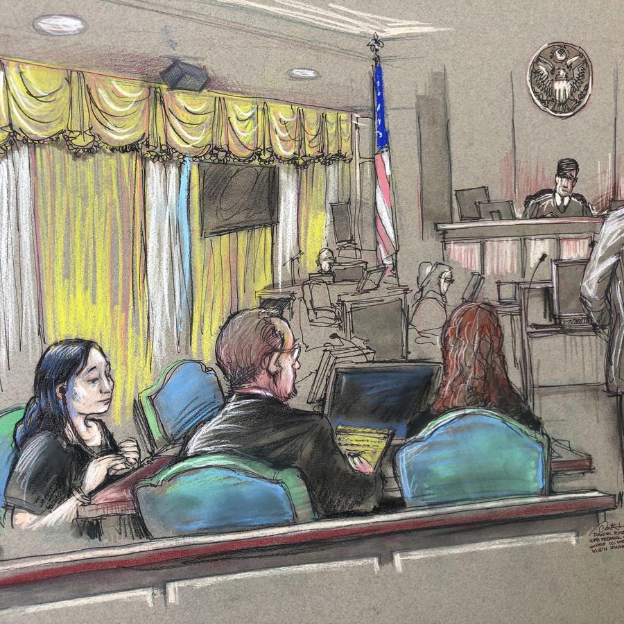Imagen de la corte en Palm Beach, Florida, donde se llevó a cabo el juicio contra la empresaria china Yujing Zhang