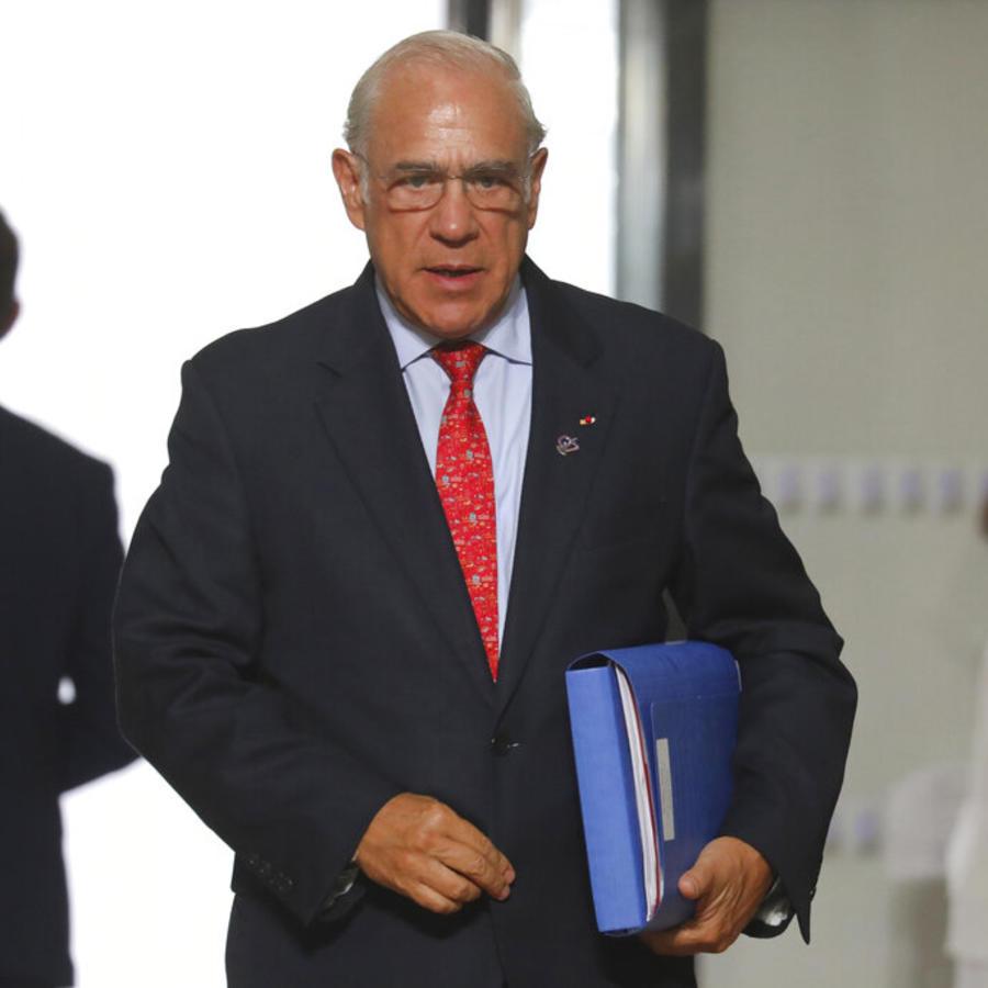 El secretario general de la Organización para la Cooperación y el Desarrollo Económicos (OCDE) José Ángel Gurría