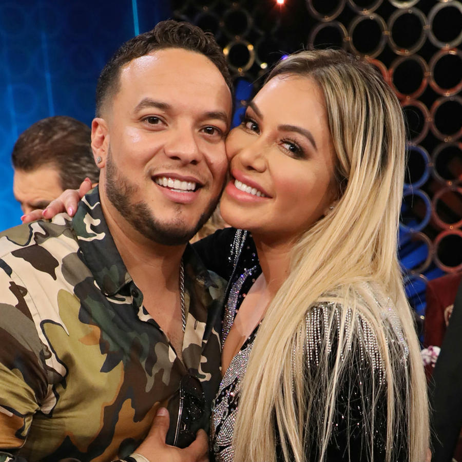 Chiquis Rivera and Lorenzo Mendez