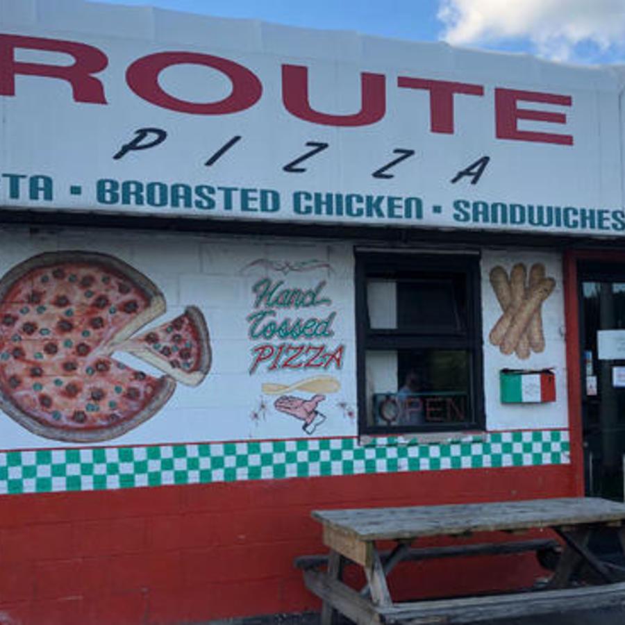 La pizzería Route 66 ubicada en Chicago.
