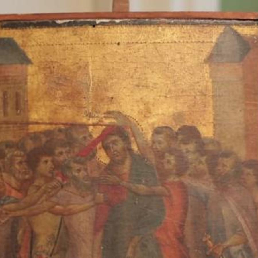 El cuadro hallado de Cimabue en una cocina
