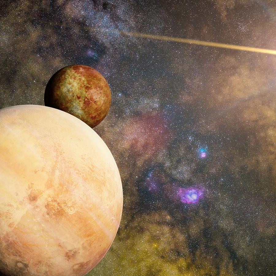 Los coorbitales son objetos espaciales que orbitan alrededor del sol aproximadamente a la misma distancia que la Tierra.