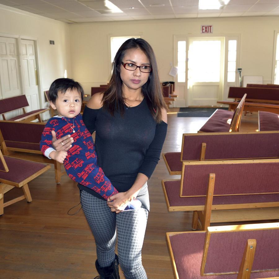 Ingrid Encalada Latorre, inmigrante indocumentada refugiada en una iglesia de Colorado