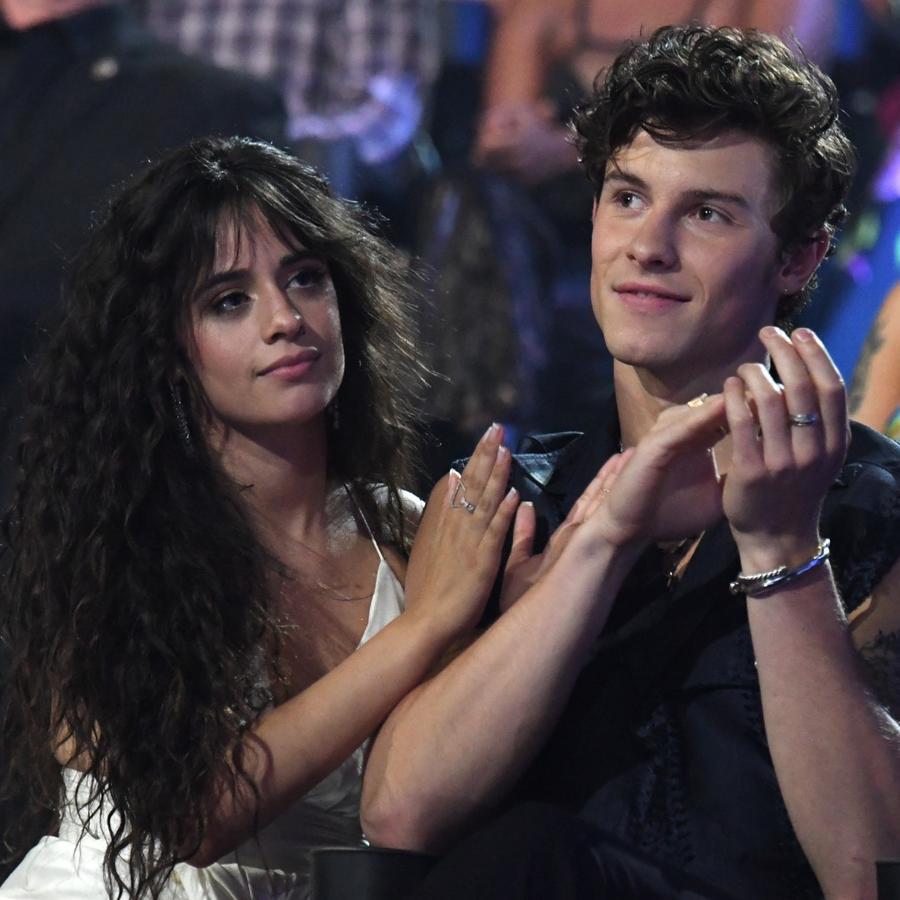 Camila Cabello and Shawn Mendes at MTV VMAs