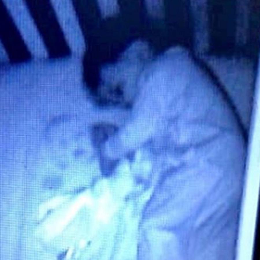 Foto del monitor de un bebé