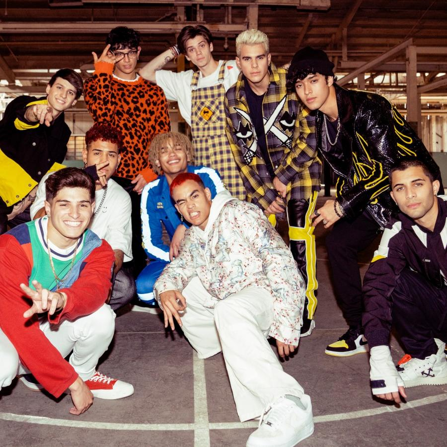 Prettymuch and CNCO in music video