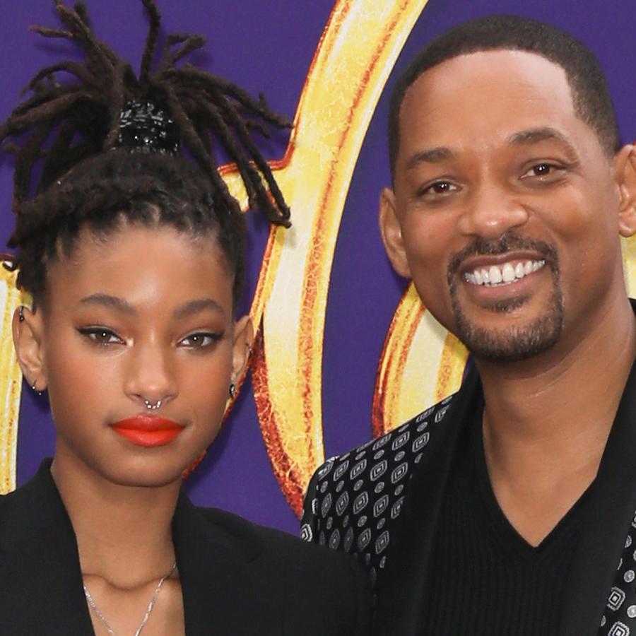 """Willow Smith y Will Smith acuden al estreno de """"Aladdin"""""""