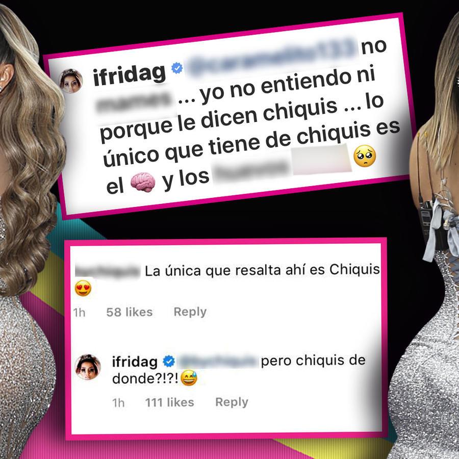 Frida Sofía insultos Chiquis