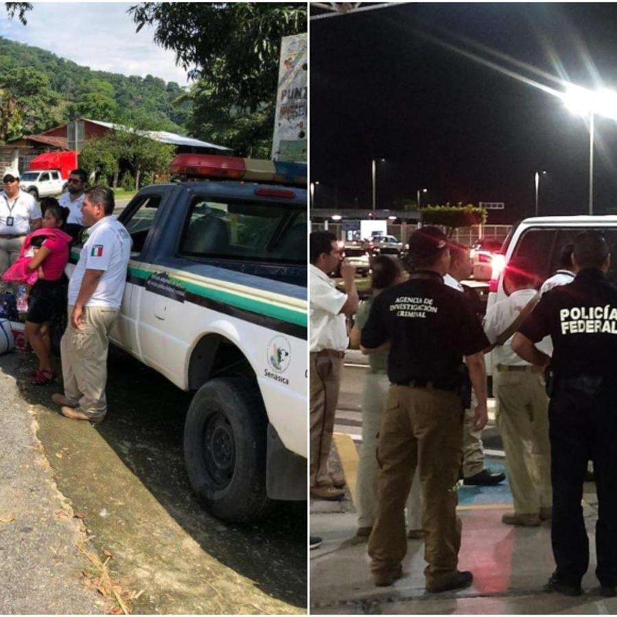 Detención de migrantes en México