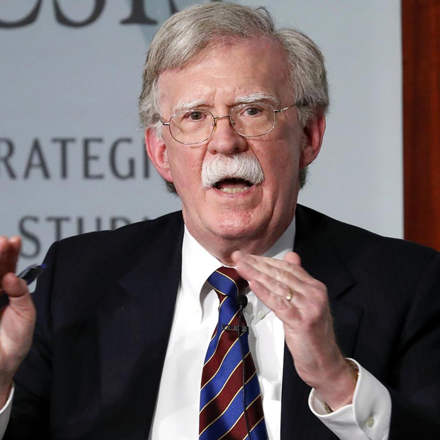 El ex asesor de seguridad nacional John Bolton el 30 de septiembre de 2019 en Washington.