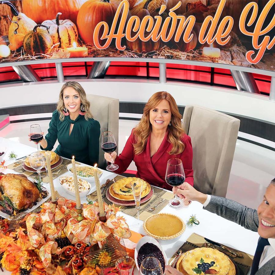 Día de Acción de Gracias en Al Rojo Vivo