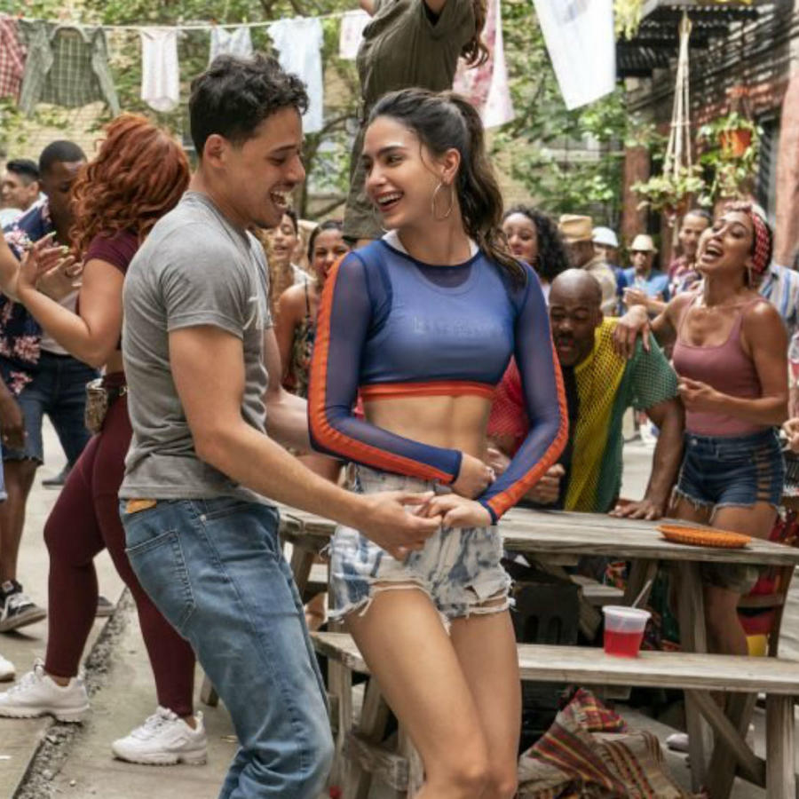 """In the Heights"", escena película"