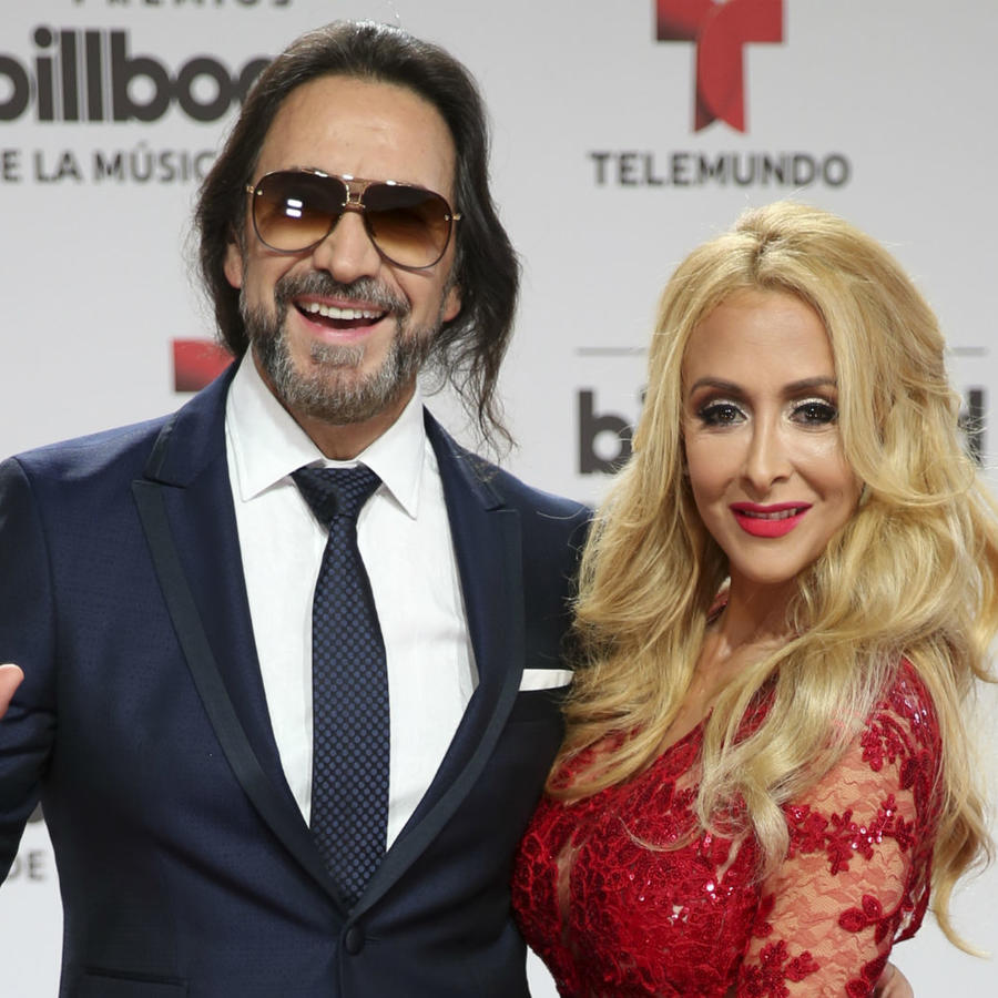 Marco Antonio Solís y Cristian Salas