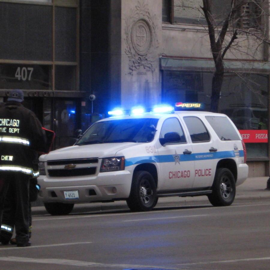 Vehículo de la policía de Chicago.