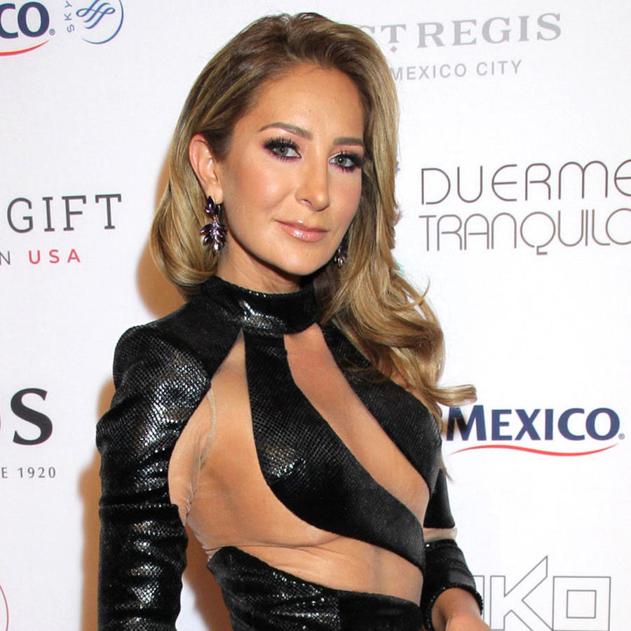Geraldine Bazán en la quinta Global Gift Gala, México, 19 de noviembre 2019.