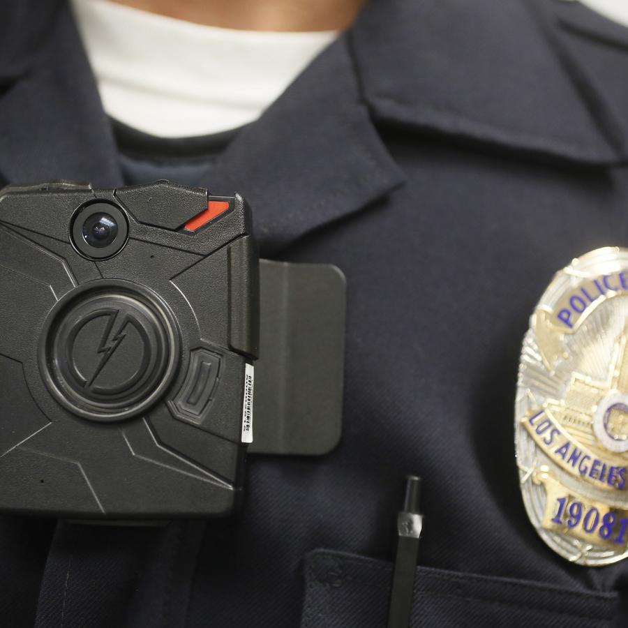 Cámaras corporales del Departamento de Policía de Los Ángeles