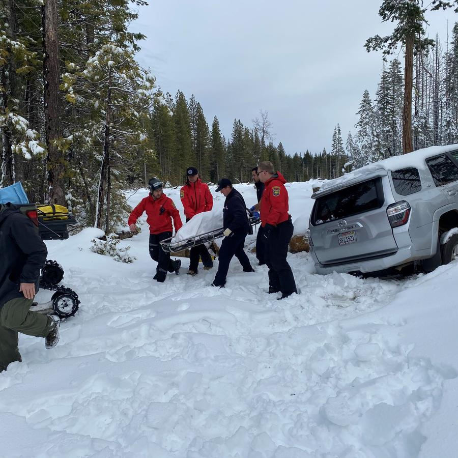 Rescate de Paula Beth James/Sheriff del condado de Butte