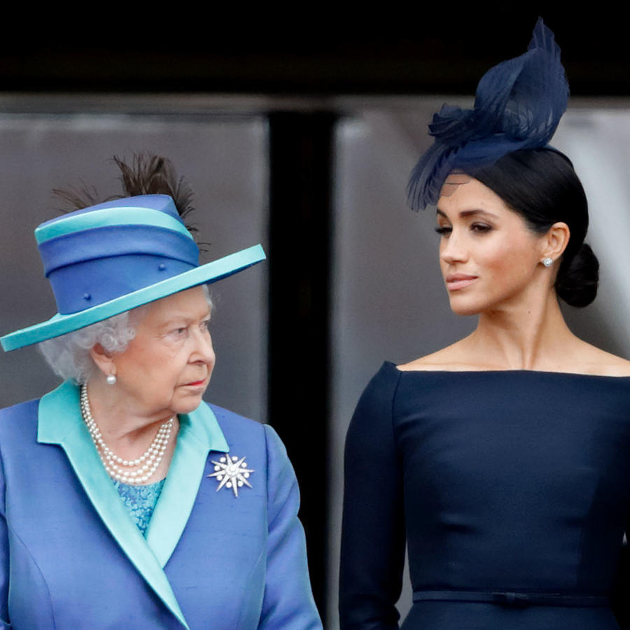 Reina Isabel, Meghan Markle y Harry