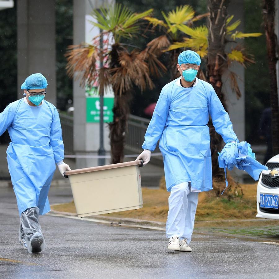 hospital de Wuhan