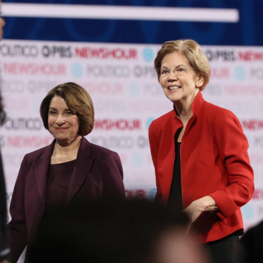 Democratic Presidential Candidates Participate In Last Debate Of 2019