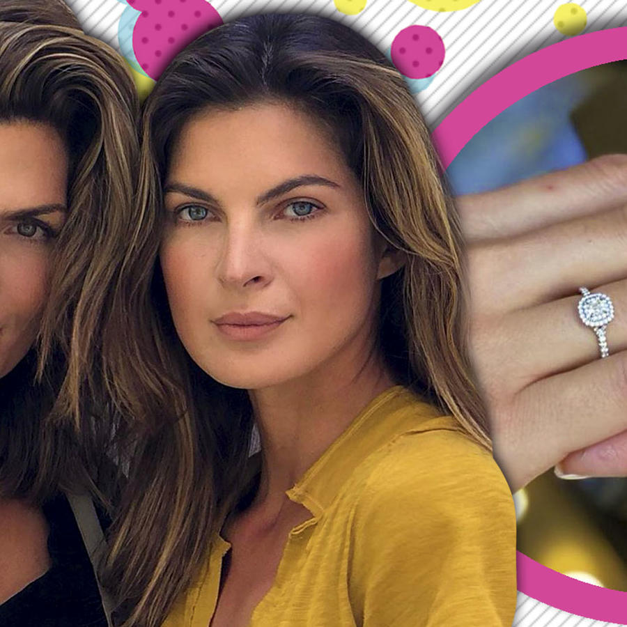 Montserrat Oliver anillo de compromiso novia