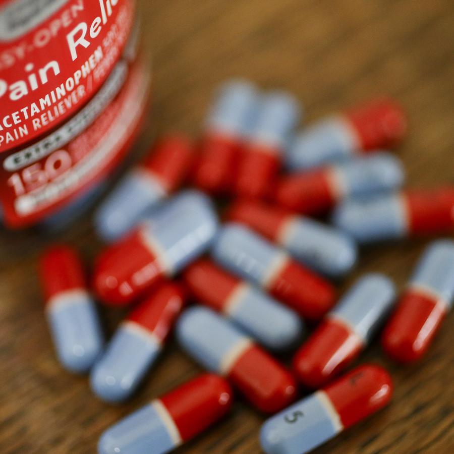 Imagen de archivo de un medicamento con paracetamol